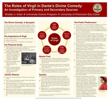 divine comedy thesis