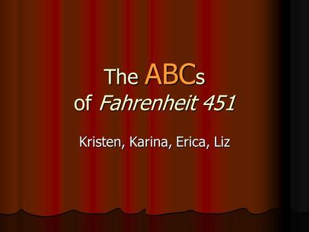 themes for fahrenheit 451 essays Free essay: fahrenheit 451 by ray bradbury fahrenheit 451 by ray bradbury is a novel dealing with censorship and defiance in a world in which book burning.