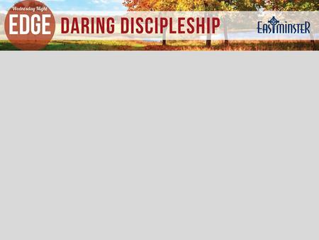 Ben Marquez Director of Discipleship 316.737.6383 Welcome.