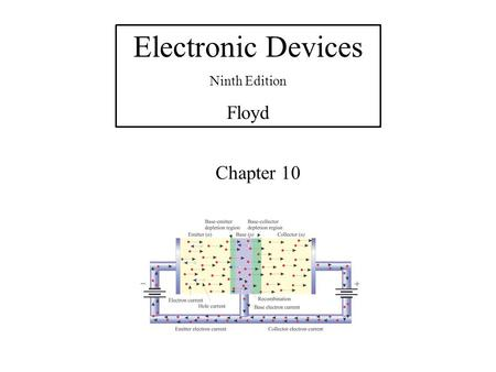 Electronic Devices Ninth Edition Floyd Chapter 10.