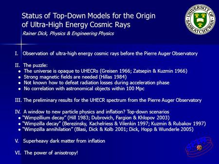 Status of Top-Down Models for the Origin of Ultra-High Energy Cosmic Rays I. Observation of ultra-high energy cosmic rays before the Pierre Auger Observatory.