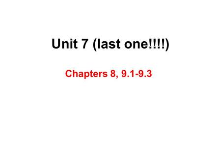 Unit 7 (last one!!!!) Chapters 8, 9.1-9.3. Chemical Bonding and Molecular Geometry Lewis Symbols and the Octet Rule Ionic Bonding Covalent Bonding Molecular.