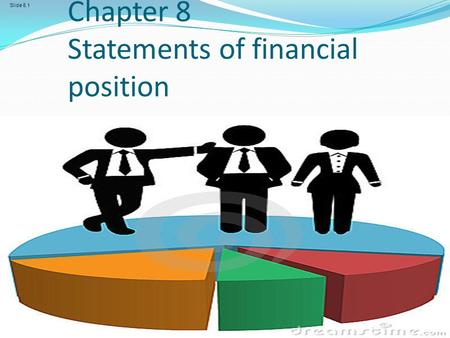 Frank Wood and Alan Sangster, Frank Wood's Business Accounting 1, 12 th Edition, © Pearson Education Limited 2012 Slide 8.1 Chapter 8 Statements of financial.