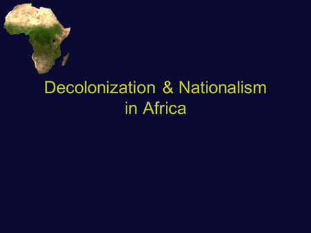 european nationalism in africa A tribute to european nationalism 4:16 the following content has been identified by the youtube community as inappropriate or offensive to some audiences.