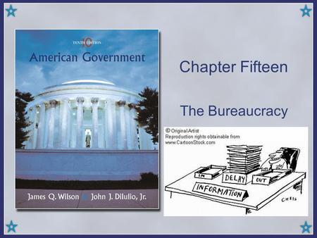 The federal bureaucracy chapter 13 exam