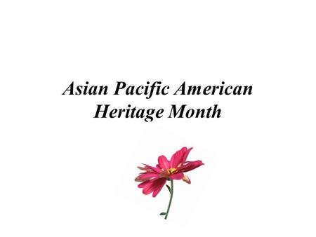 Asian Pacific American Heritage Month. Asian Inventors & Inventions Chinese Inventions and Discoveries Long recognized in the West for its natural and.