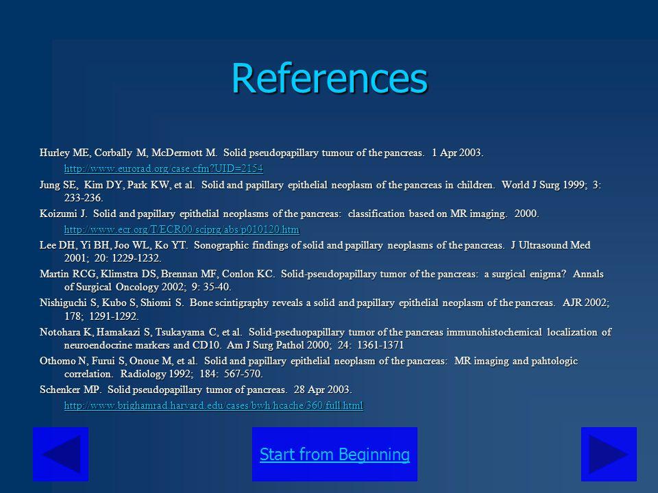 Start from BeginningReferences Shimizu M, Matsumoto T, Hirokawa M, et al.