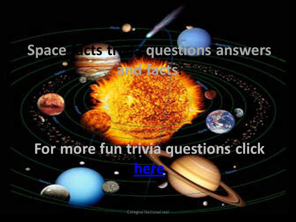 What is a black hole? Colegiul National Iasi