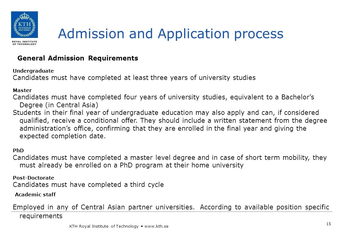 Application Process 16 Group 2 WHEN.
