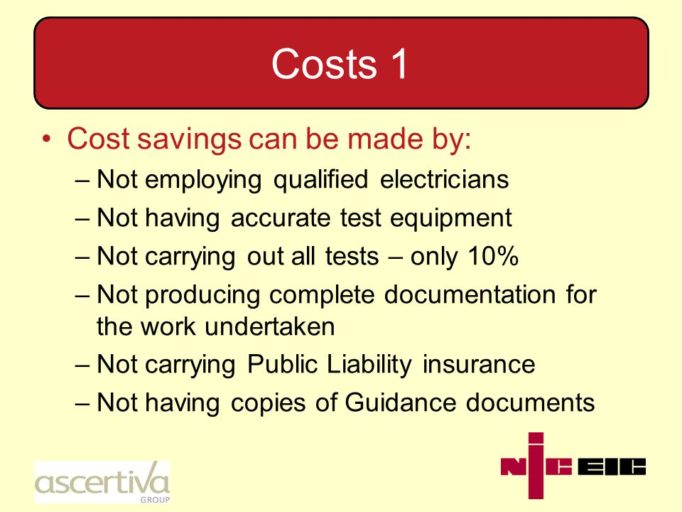 Costs 2 There are a number of Trust a Trader organisations which register contractors for fees of about £500.