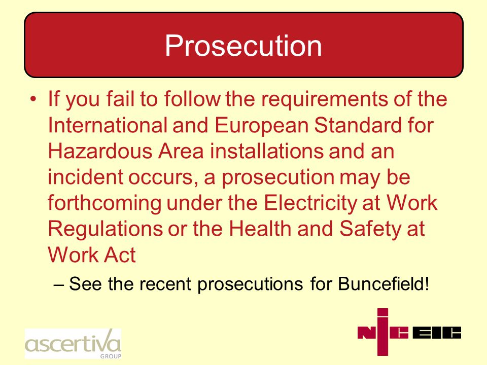 EWR Regulation 29 Regulation 29 of the EWR lists a possible defence against prosecution The Regulation does not apply not all Regulations, only those which are specified One of those which is specified, and to which it does apply, is Regulation 16, Competence