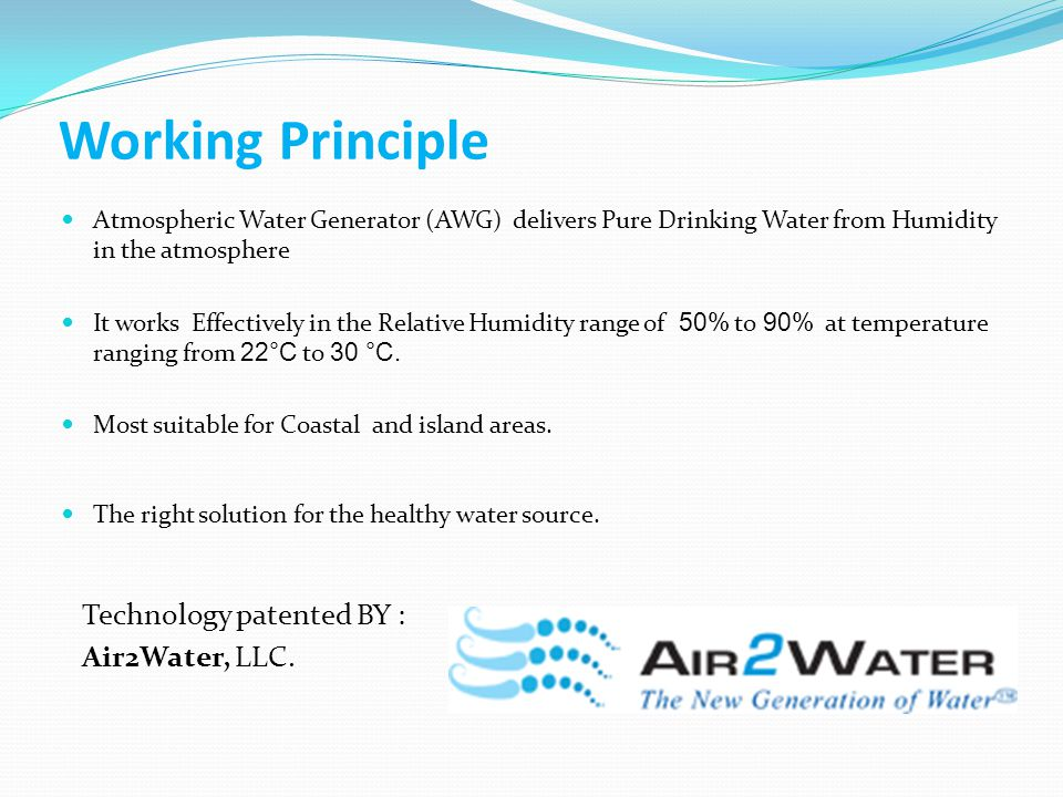 Air-o-water Technology