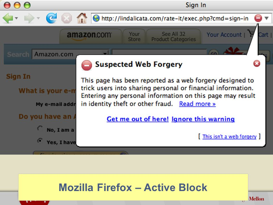©2012 Carnegie Mellon University : 32 How Effective are these Warnings.