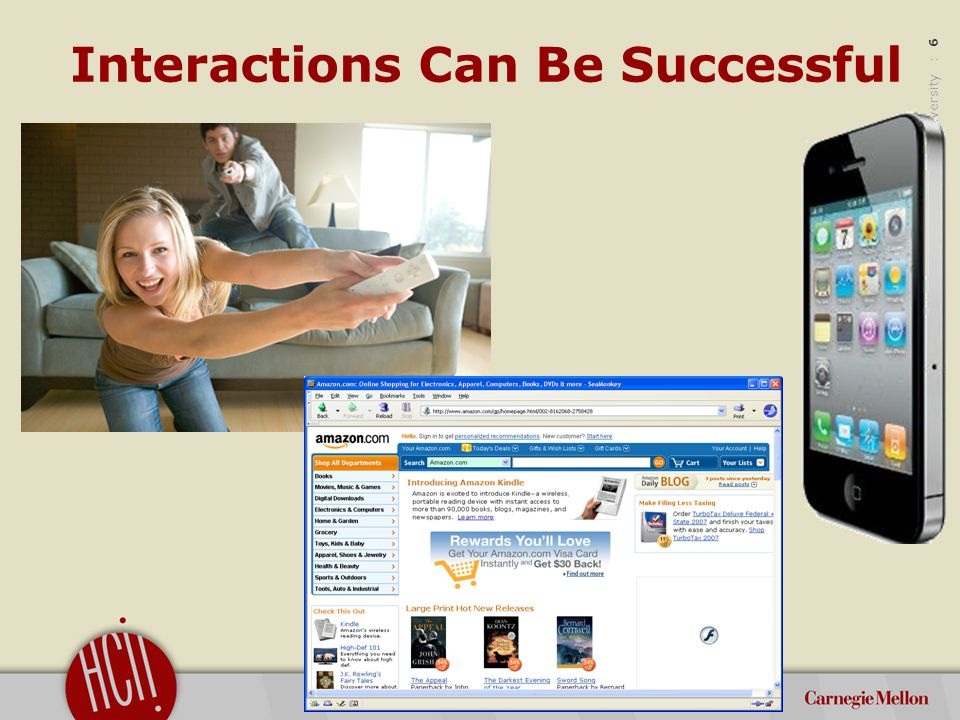 ©2012 Carnegie Mellon University : 7 Interactions Can Also Fail