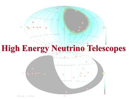 High Energy Neutrino Telescopes. The current status of knowledge..