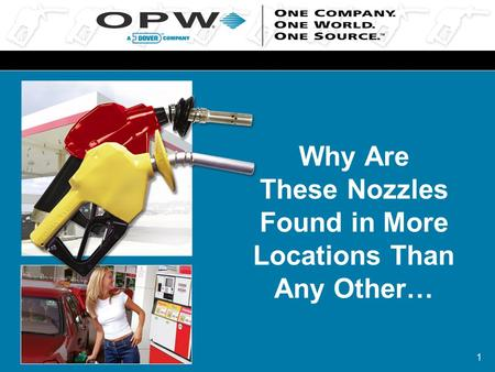 1 Why Are These Nozzles Found in More Locations Than Any Other…