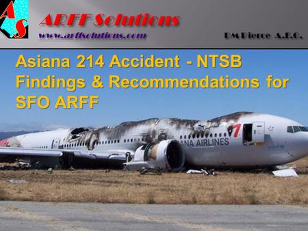 ARFF Solutions  DM Pierce A.F.O.