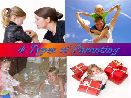 Learning Targets  Define the 4 types of parenting styles  Analyze parenting styles for further depth of understanding  Create informative posters on.