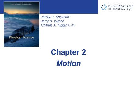 Chapter 2 Motion.