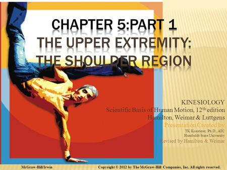 Chapter 5:Part 1 The Upper Extremity: The Shoulder Region