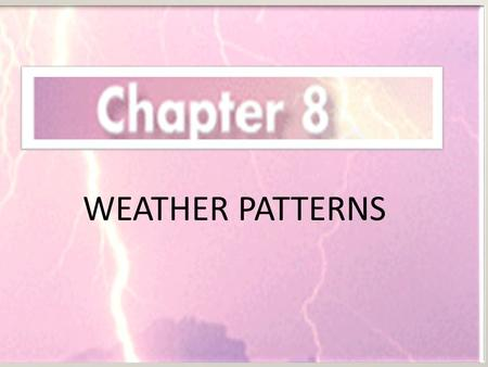 WEATHER PATTERNS. Lesson 1 How Does Air Move? Layers of Air Convection Currents Wind Patterns.