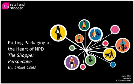 June 2011 JN225079 © 2011 TNS UK Limited Putting Packaging at the Heart of NPD The Shopper Perspective By: Emilie Coles.