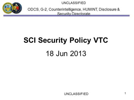 SCI Security Policy VTC