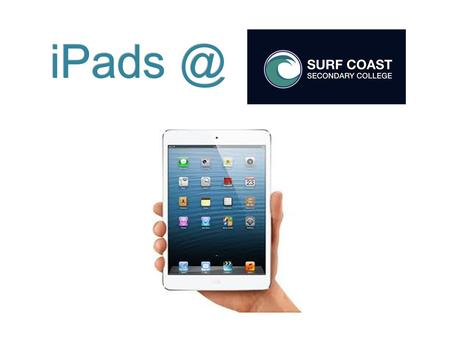 Securing Your iPad What can you do to make sure that your iPad is at school every day and is kept safe? Passcode lock Label your accessories.