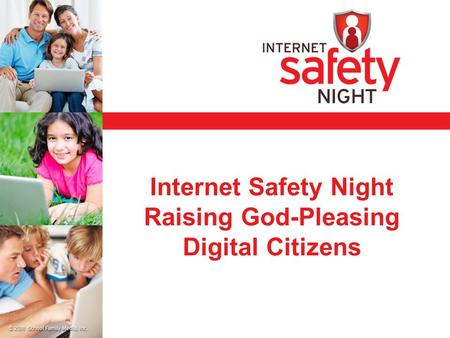 Internet Safety Night Raising God-Pleasing Digital Citizens.