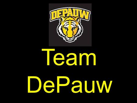 Team DePauw. What tonight will look like: Quick team discussion. You will follow your child's schedule to meet each teacher and learn more about that.