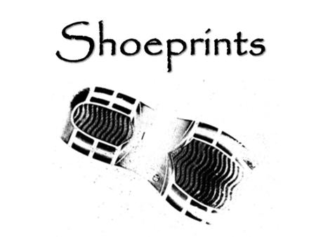 Shoeprints. History Earliest use of shoe prints was in 1786 in Scotland –Used to discover the murderer of a young girl Footprints were found leaving her.