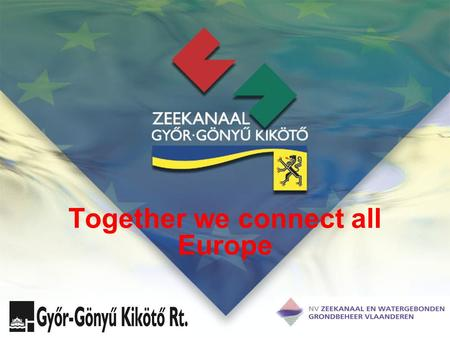 Together we connect all Europe. Alliance The NV Zeekanaal en Watergebonden Grondbeheer Vlaanderen signed a co-operation agreement with the Hungarian inland.