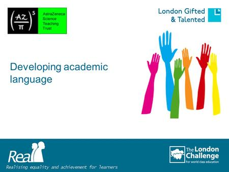 Developing academic language. What difficulties do learners in your school have with language?