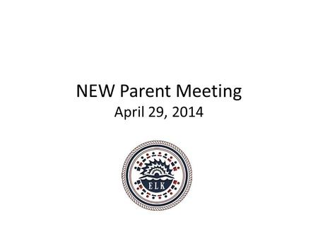 NEW Parent Meeting April 29, 2014. Who are we? Our mission – Our mission is to use the sport of swimming to build character, leadership & discipline into.