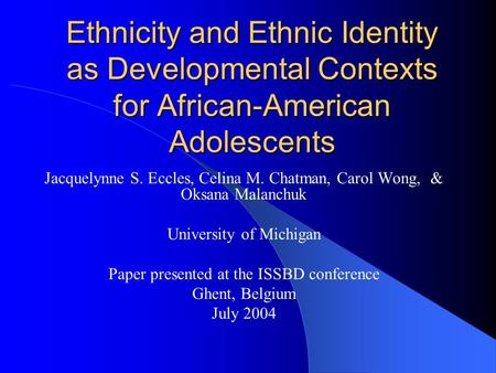 """development of the american identity between Free essay: keum yong (andrew) lee dbq – score 8/9 (95) in what ways and to what extent did the """"american identity"""" develop between 1750 and 1776 though the."""