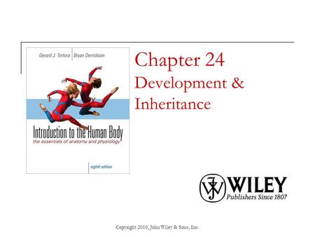 Chapter 24 Development & Inheritance