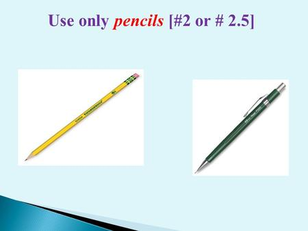 Use only pencils [#2 or # 2.5]. Write your Name and ID number on the Exam cover sheet. King Fahd University of Petroleum and Minerals College of Applied.