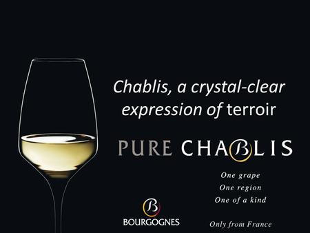 Chablis, a crystal-clear expression of terroir. This presentation is dedicated to the discovery of the wines of Chablis, and is part of the Bourgogne.