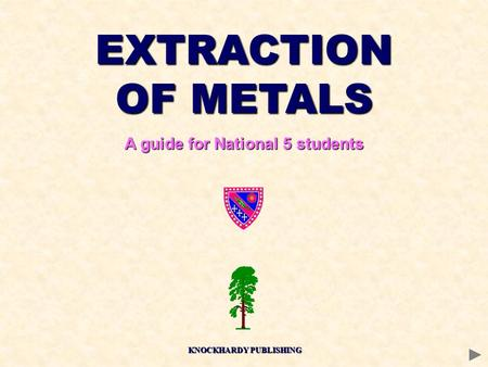 A guide for National 5 students KNOCKHARDY PUBLISHING