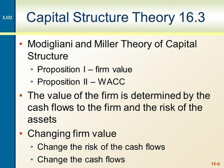 Evaluating a Company's Capital Structure