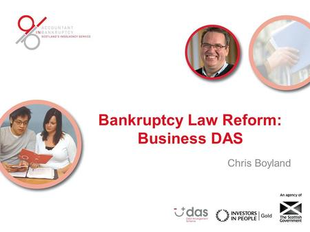 Bankruptcy Law Reform: Business DAS Chris Boyland.