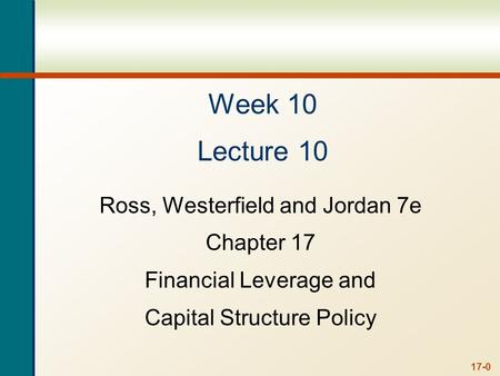 Last Lecture.. Cost of Equity Cost of Preferred Stock Cost of Debt