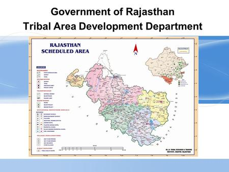 Government of Rajasthan Tribal Area Development Department.