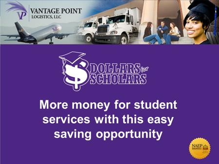91 st Annual Meeting & Exposition April 1 – 4, 2012 Anaheim, California More money for student services with this easy saving opportunity.