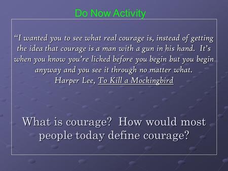 parvana courage