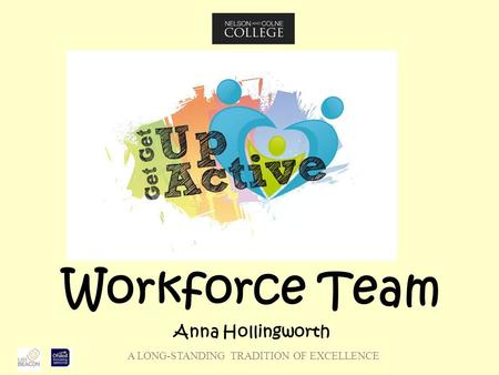 A LONG-STANDING TRADITION OF EXCELLENCE Workforce Team Anna Hollingworth.
