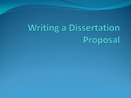 "Purpose Qualifying Exam (Dissertator status) Plan for your remaining education Convince your thesis committee the dissertation will ""work"" Beginnings."