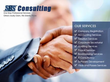 ACCOUNTING SERVICES As a one-stop financial solutions provider, SBS Consulting offers a comprehensive range of unprecedented accounting services to SMEs.