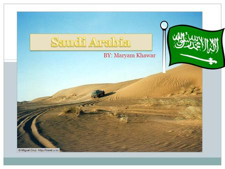 BY: Maryam Khawar The Saudi Arabian government follows the Quran and Islamic law. It is a Monarchy, and ruled by King Abdullah of Saudi Arabia.