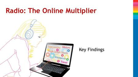 Radio: The Online Multiplier Key Findings. Background Why we conducted this study 1.